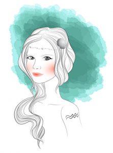 Kepribadian Wanita Aquarius