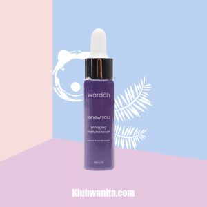 Cara Pemakaian Wardah Renew You Anti Aging Intensive Serum