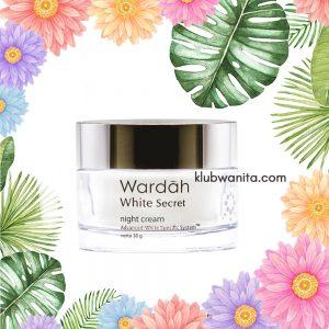 Cara Penggunaan Wardah White Secret Night Cream
