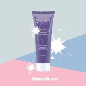 Manfaat Wardah Renew You Anti Aging Facial Wash