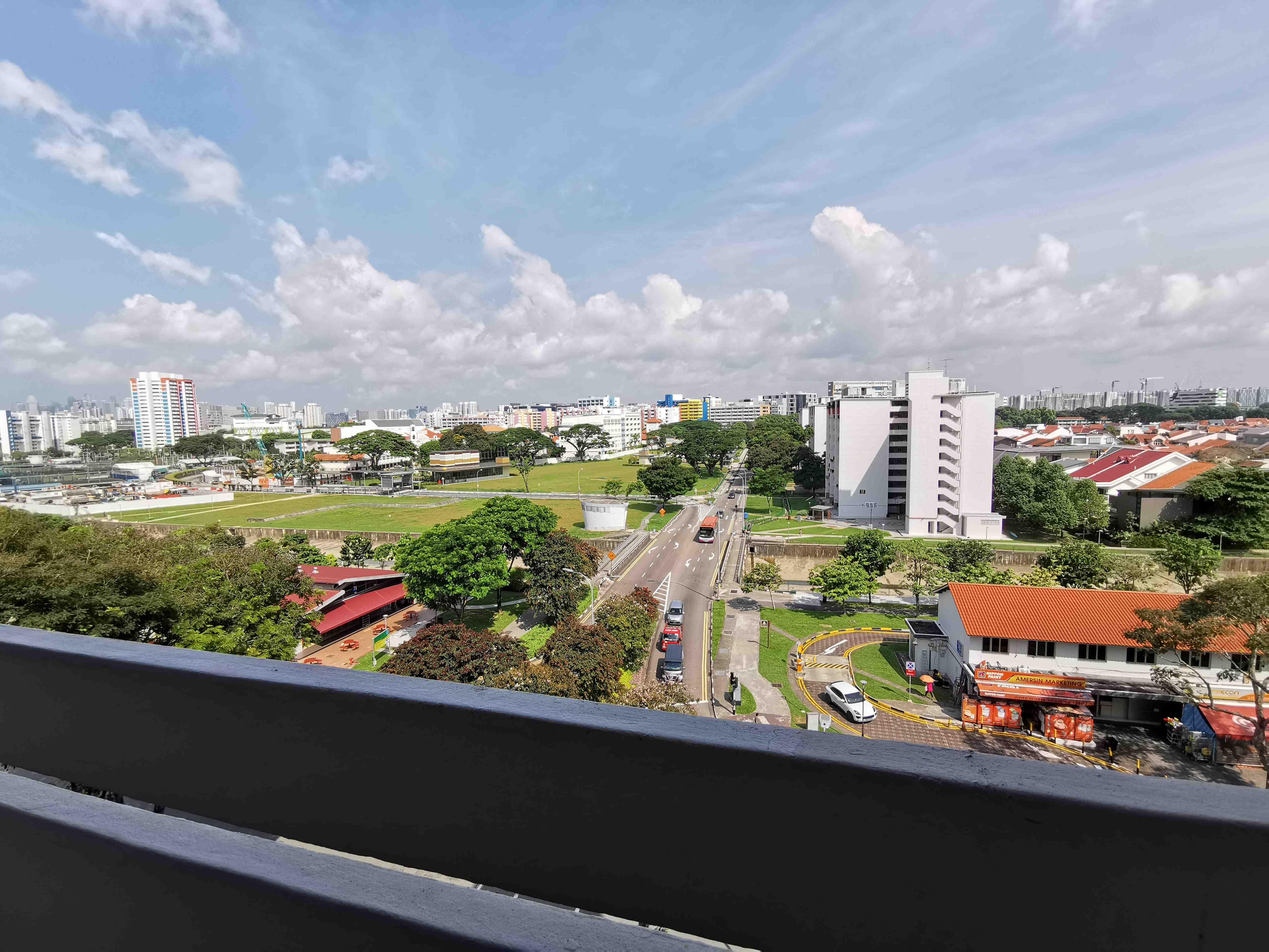 2 panoramic view right from the house
