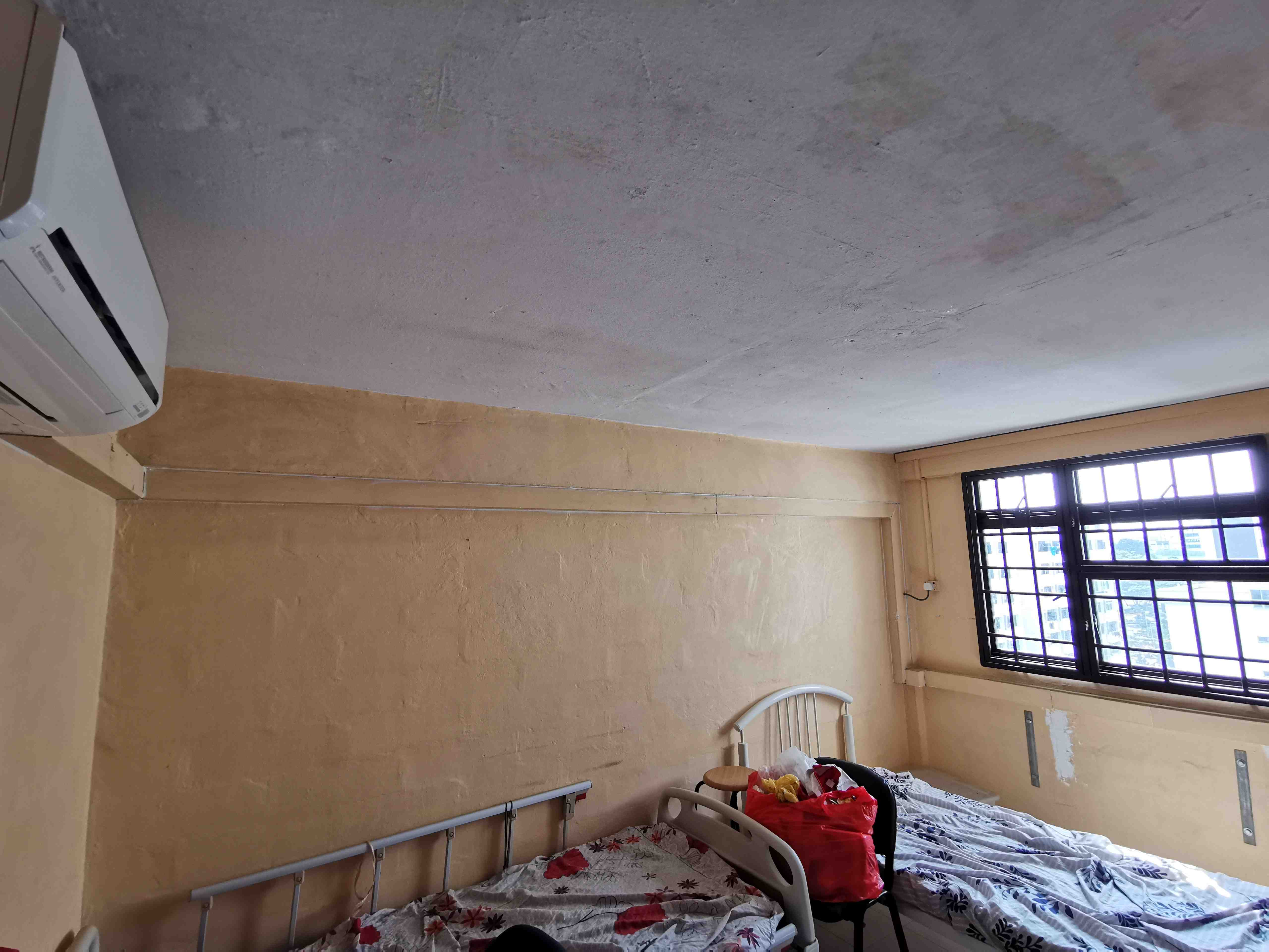 7 master bedroom to be renovated