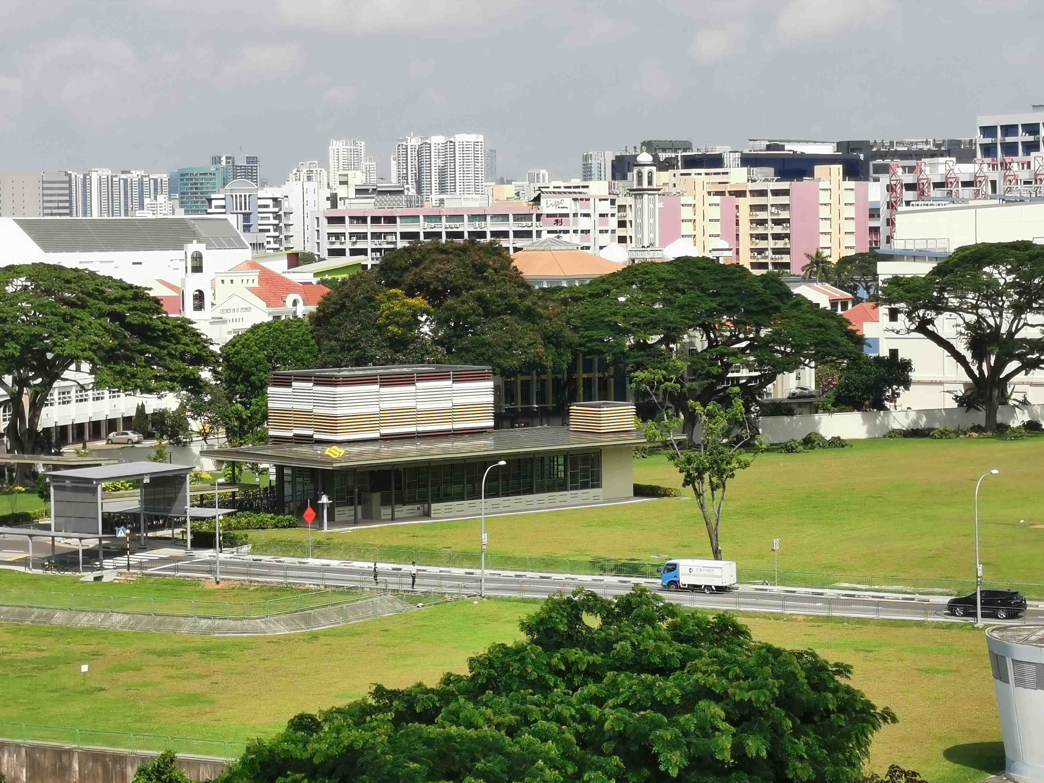 8 view of mrt station from the unit