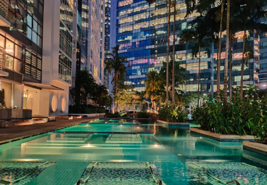 Icon swimming pool