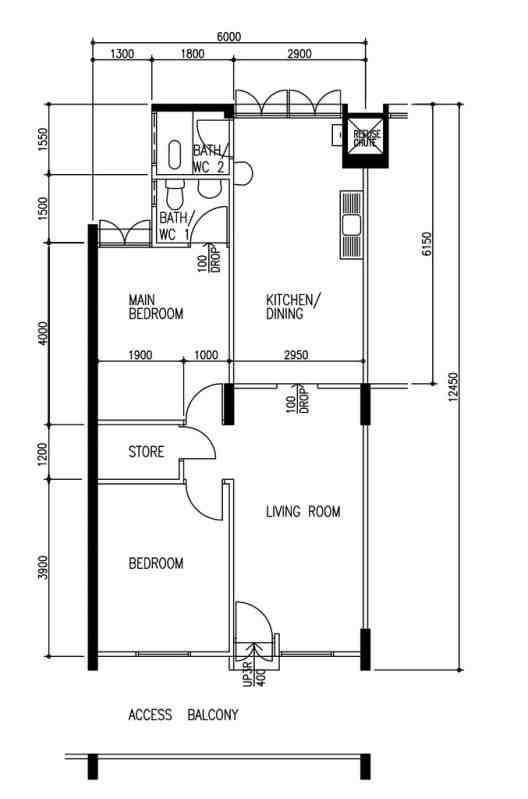 3ng hdb floorplan