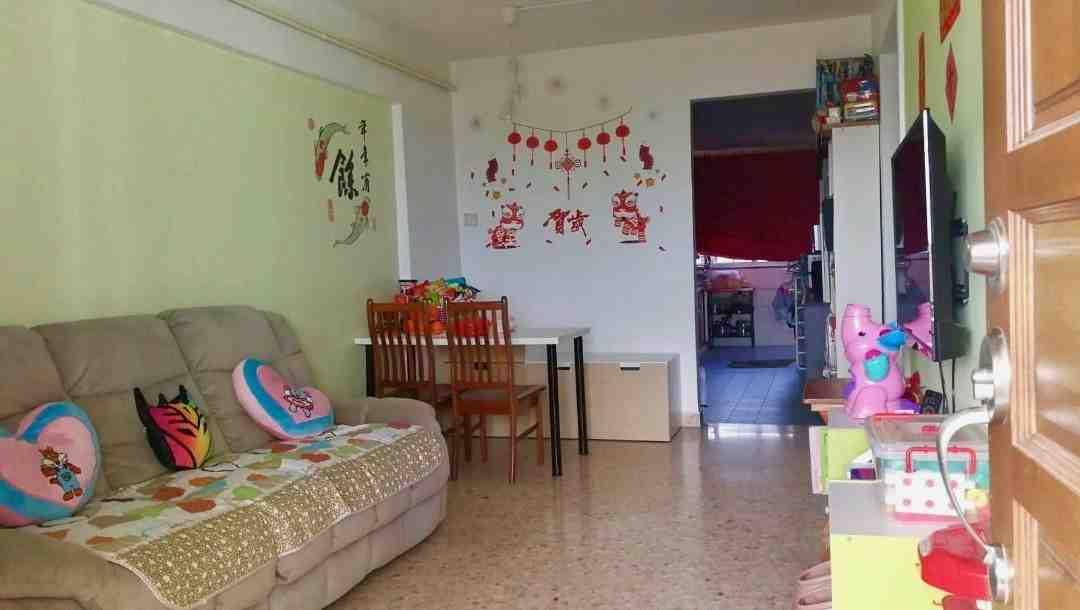 156 ang mo kio living room