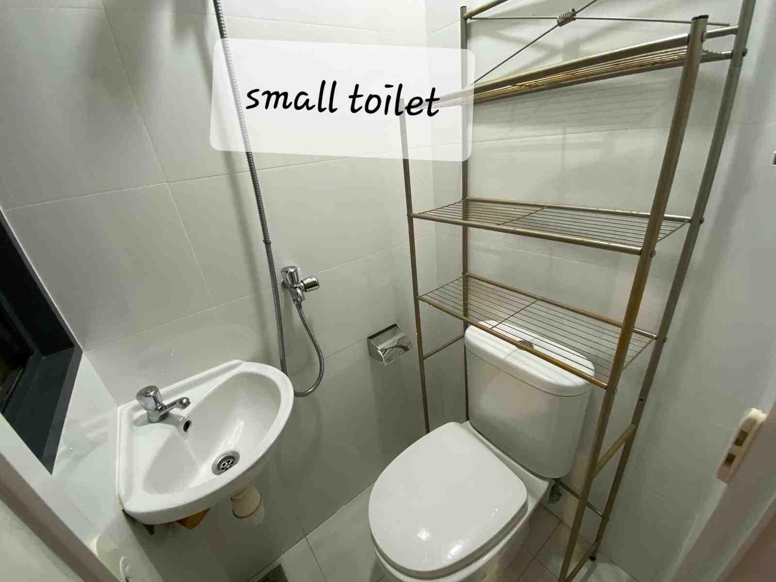 16. small toilet