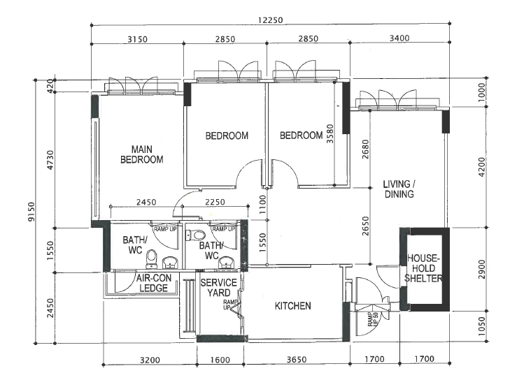 Mr floorplan