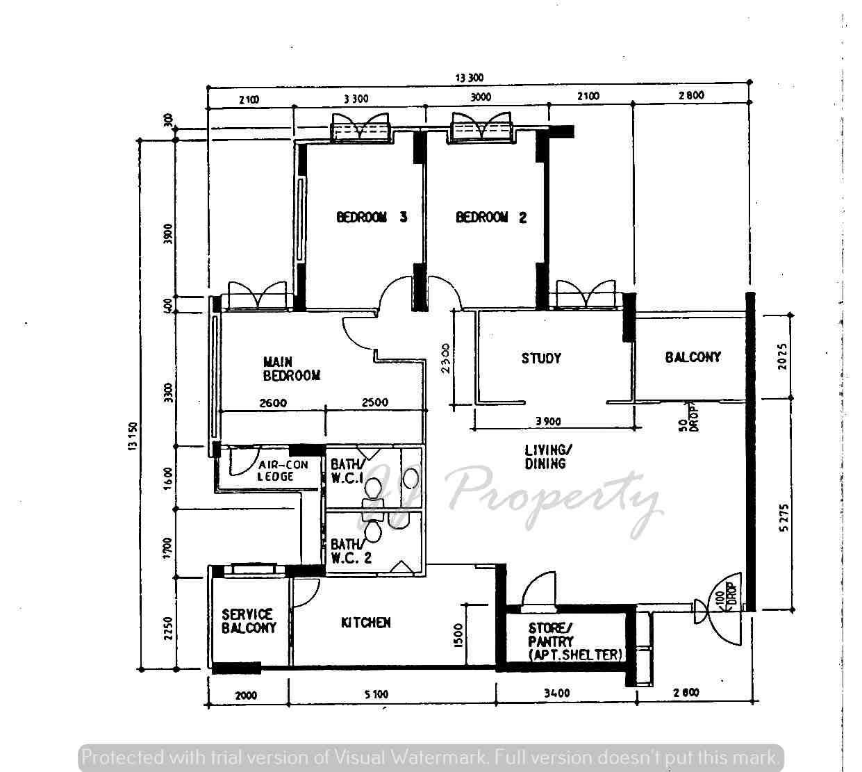 Wm floorplan