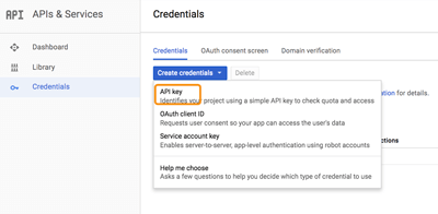 Ionic 3, Angular 5 and Cordova Geofence with Google Places API - Create Credentials