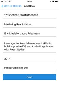 React Native and Apollo GraphQL Tutorial: Build Mobile Apps - Add