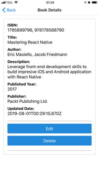 React Native and Apollo GraphQL Tutorial: Build Mobile Apps - Details