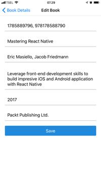 React Native and Apollo GraphQL Tutorial: Build Mobile Apps - Edit