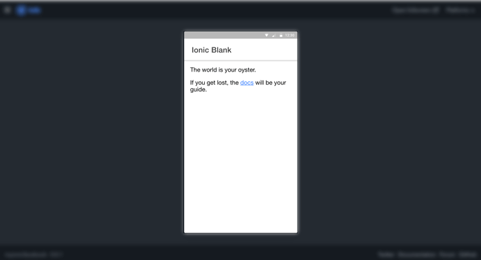 Ionic Angular Facebook Login - Ionic Lab