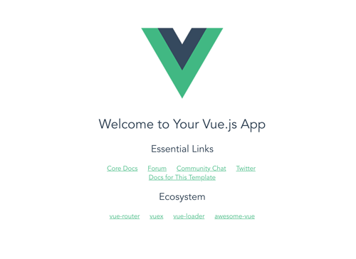 Securing MEVN Stack (Vue.js 2) Web Application using Passport - Vue Home