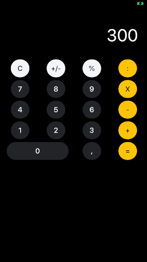 Ionic 5 Tutorial: Create Ionic Calculator App (Angular) - Demo