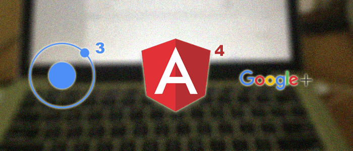 Ionic 3 Google Plus Authentication Tutorial