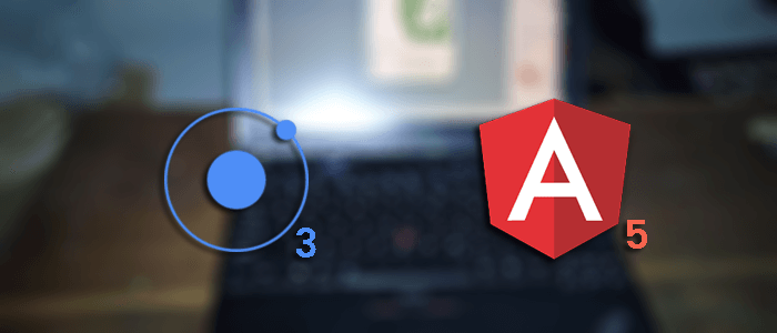 Ionic 3 and Angular 5 Mobile App Example