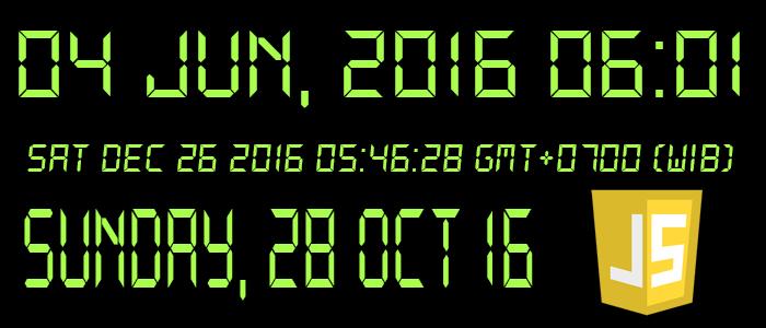 Javascript Format Datetime