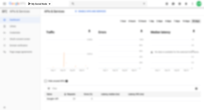 Angular 8 Google Maps Firebase Realtime - Google dev console