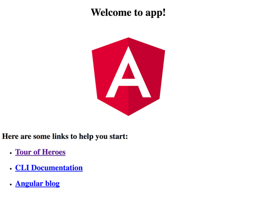 Spring Boot, MongoDB and Angular 5 CRUD Java Web Application - Angular 5 Home