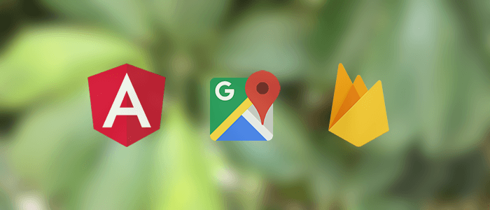 Angular 8 Google Maps Firebase Realtime Blood Donor App