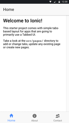 Add Swipe Gesture to Ionic 3 Angular 5 Tabs