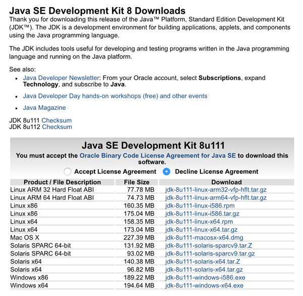How to Install Java JDK 8 on Windows 10, Mac OS X El-Capitan and