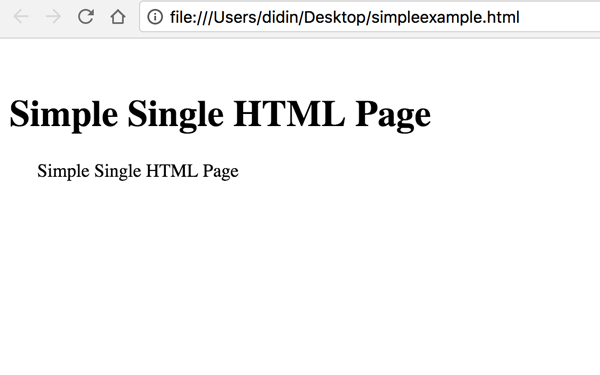 Easy learning HTML 5 from basic - Sample HTML 5 page