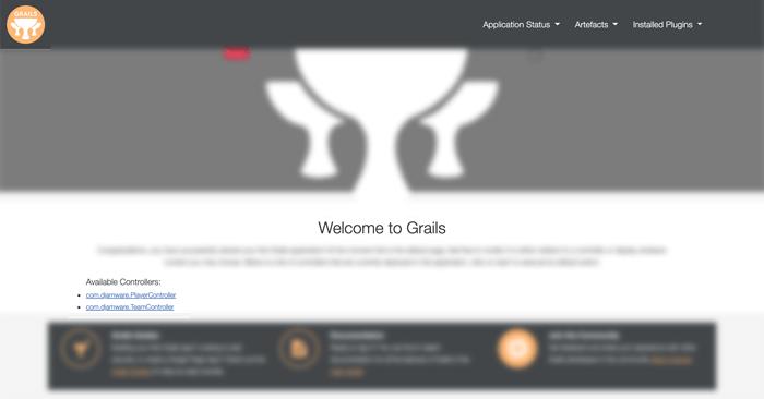 Grails 4 Tutorial: Easy to Build CRUD Web Application - Grails Home