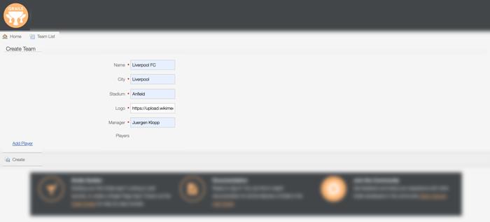 Grails 4 Tutorial: Easy to Build CRUD Web Application - Create