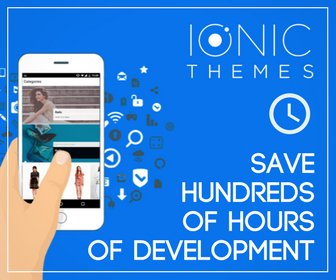 Ionic Themes - Save hundreds of hours of development