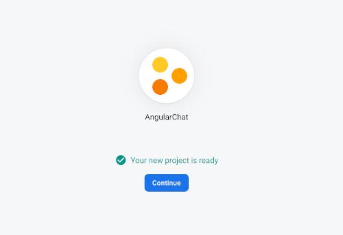Angular 9 Tutorial: Creating Firebase Chat Web App - Firebase ready