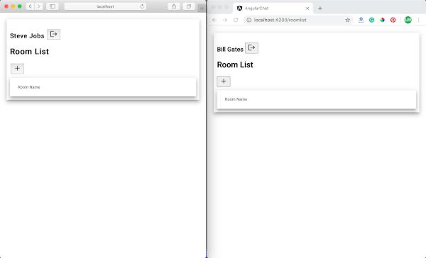 Angular 9 Tutorial: Creating Firebase Chat Web App - demo 2