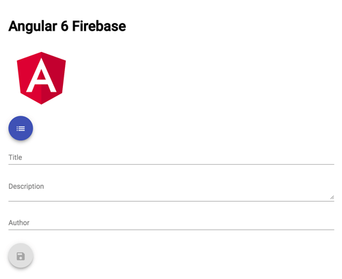 Angular 6 Firebase Tutorial: Firestore CRUD Web Application - Create Board