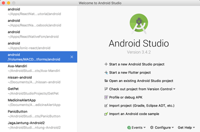 Flutter Tutorial: Create a Native Android and iOS Apps Quickly - android studio start