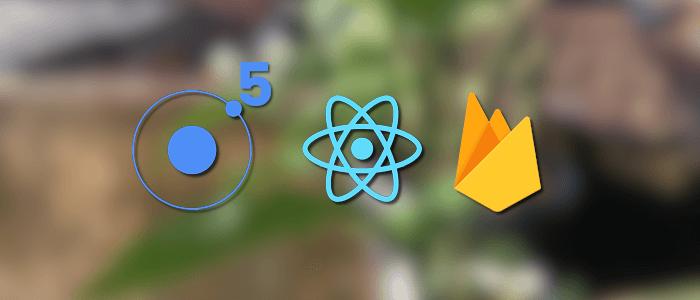 Build Ionic 5 React Firebase Coronavirus Dashboard Mobile App