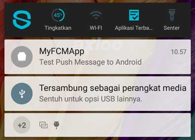 Ionic 2 FCM - Push Notification Example