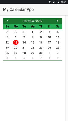 Build Ionic 3 Angular 5 Calendar UI with Event Integration - Ionic 3 Angular 5 Calendar UI