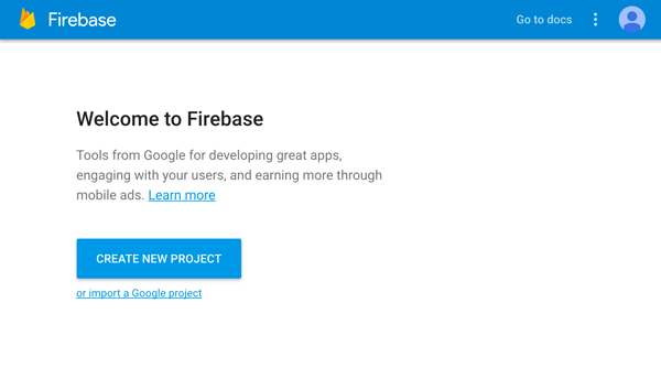 Build Ionic 3, Angular 5 and Firebase Simple Chat App - Firebase Console