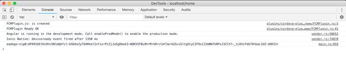 Push Notification using Ionic 4 and Firebase Cloud Messaging