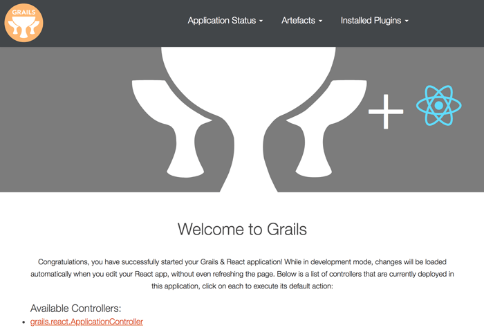 Build Grails 3, MongoDB and React Profile CRUD Web Application - Grails React Profile Page
