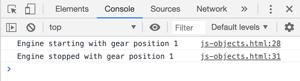 Javascript Objects - Methods Example