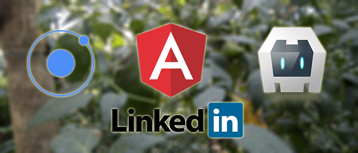 Ionic 3, Angular 4 and Cordova LinkedIn Authentication Tutorial