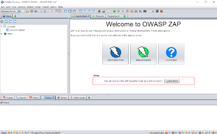 Fixing OWASP Top 10 In Spring Boot, MVC, Data, and Security - Owasp Zap