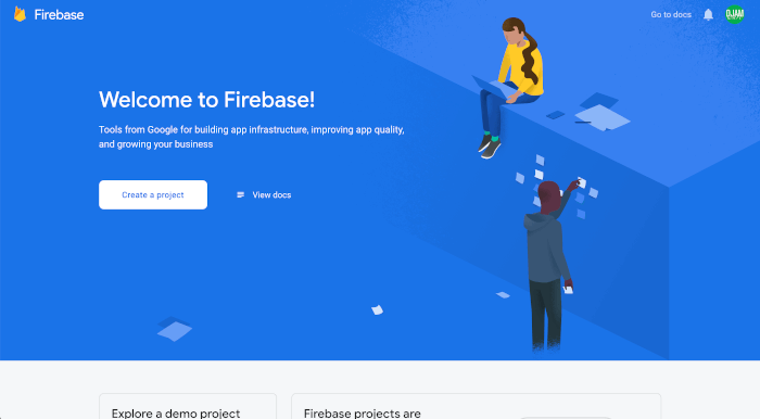 React Native Tutorial: Firebase Email Login Example - Firebase Welcome