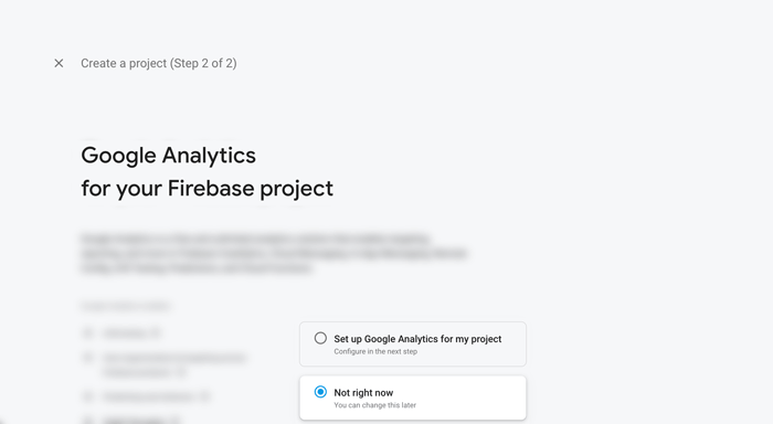 Vue.js Firebase Realtime Chat - Skip Google Analytics