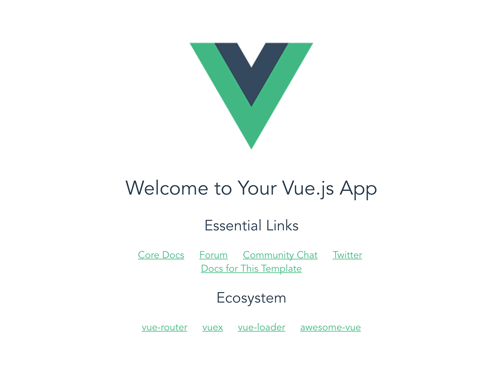 Mongo Express Vue Node.js (MEVN Stack) CRUD Web Application - Vue.js 2 home