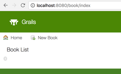 Grails 3 and MongoDB - Book CRUD