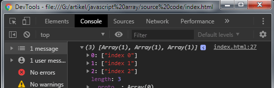 Javascript Array Manipulation - Example 3